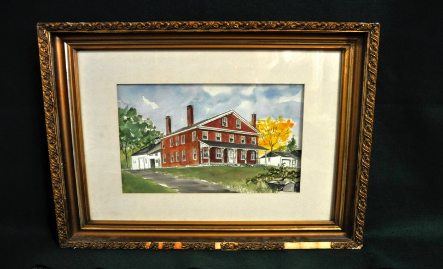 Painting of Ethan Allen House