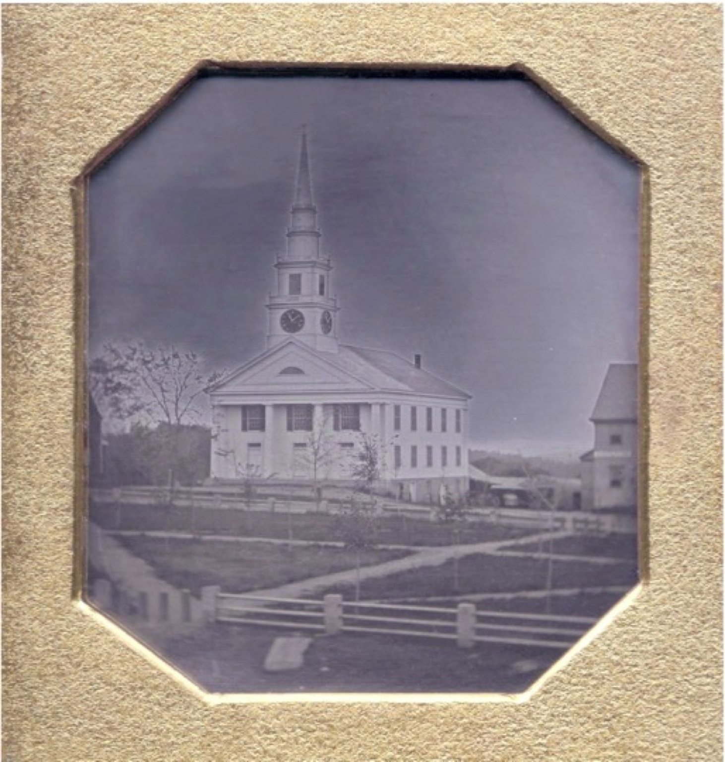 Daguerreotype of Grafton Common