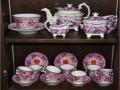 Emma Goddard Pink Luster China Tea Set 1823