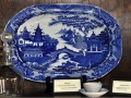 Willow Ware Platter from Emma Goddard China Collection