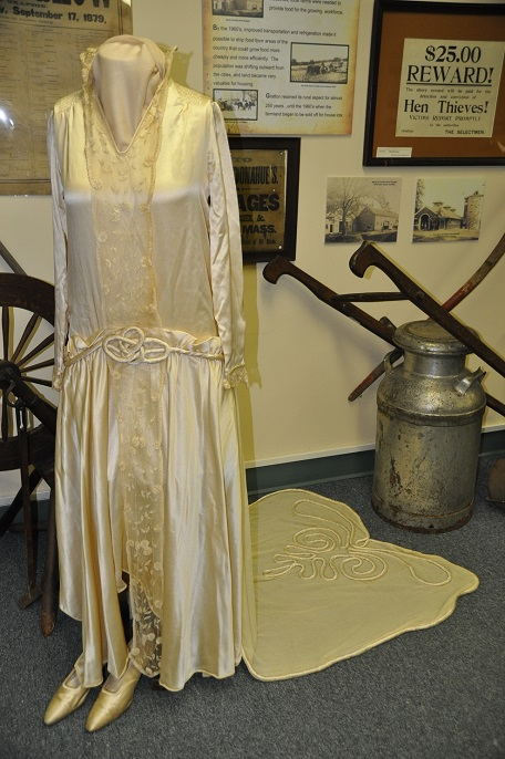 Mary Grace Deschenes gown 1929